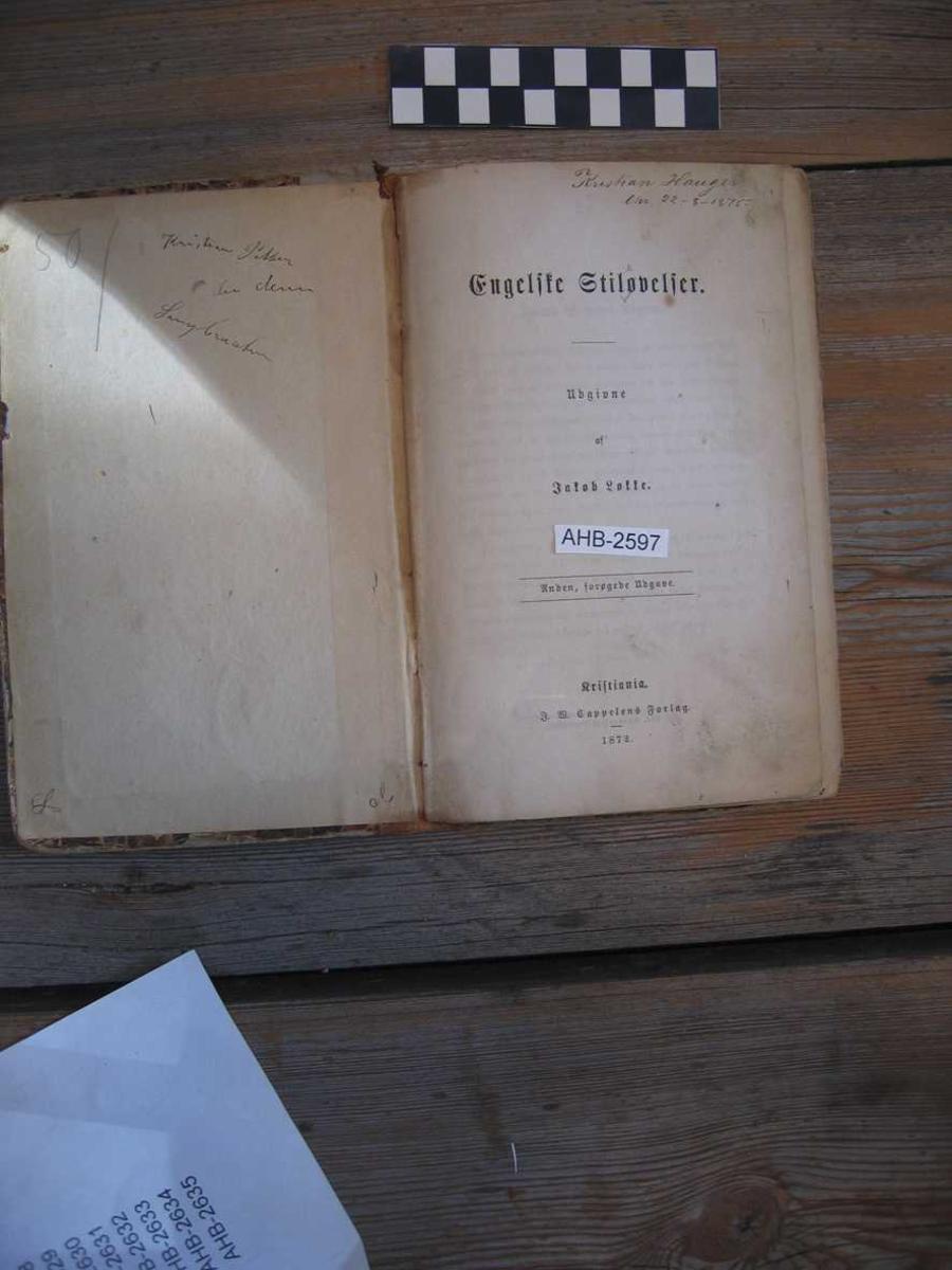 Bok - lærebok