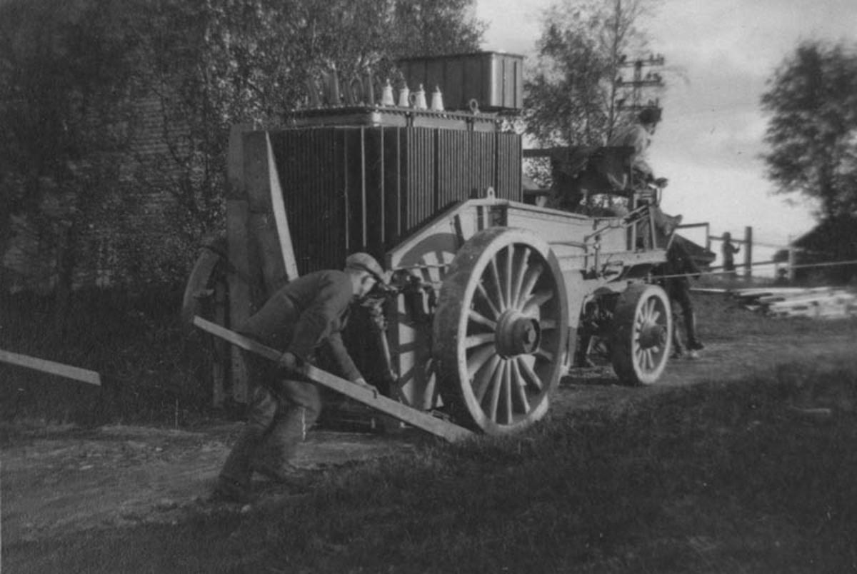 Transformatorsjau på Skiseng 1923/24.