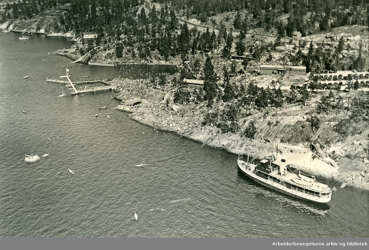 Ingierstrand,.siste halvdel av 1930-tallet