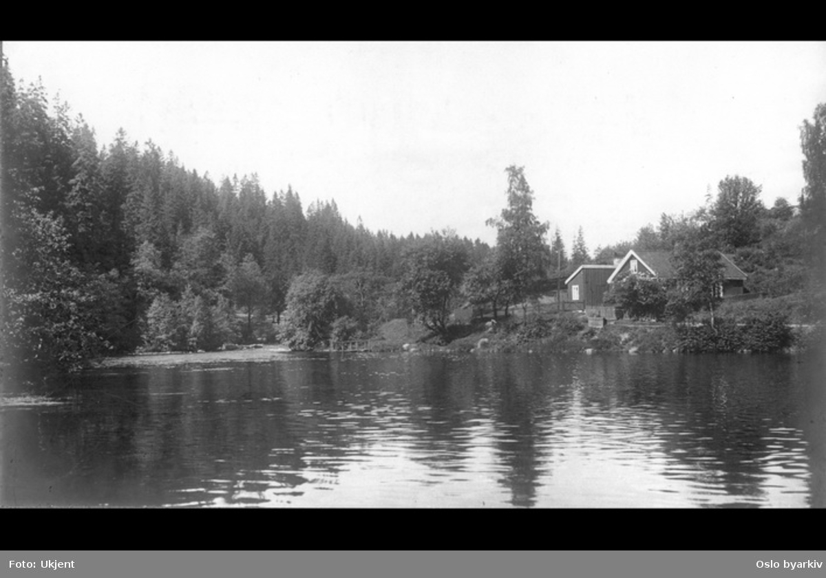 Småbruket Dammen ved Nydalsdammen. Akerselva.