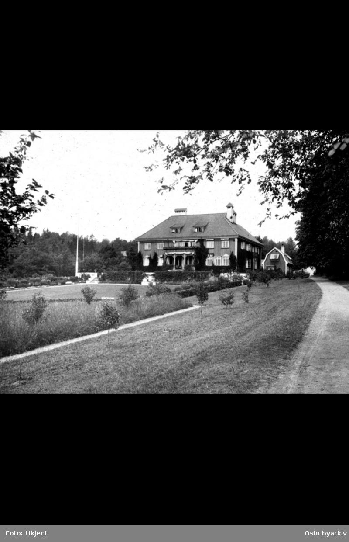 Villa i Giskehagen 59, tilhørende O.O. Bull