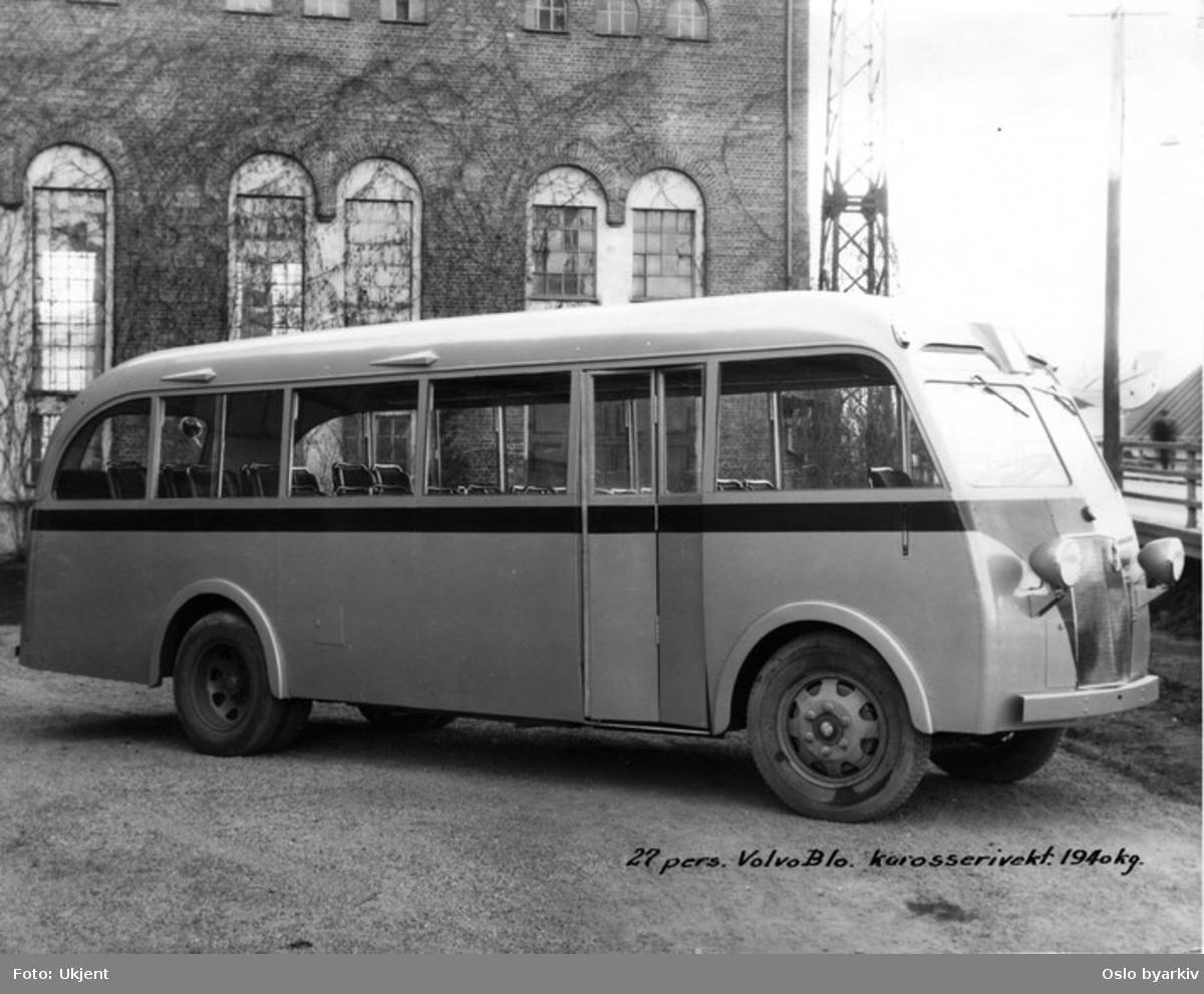 Buss av merket Volvo B10.
