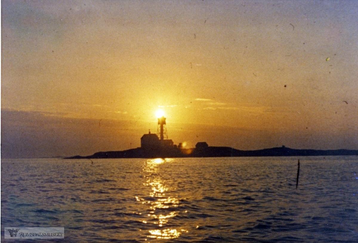Flatflesa Fyr ..Bilder tatt sommeren 1969.