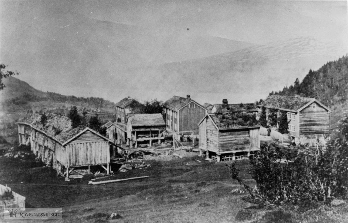 Garden Tollås på Solemdalen, fra 1870-årene før utskifting.