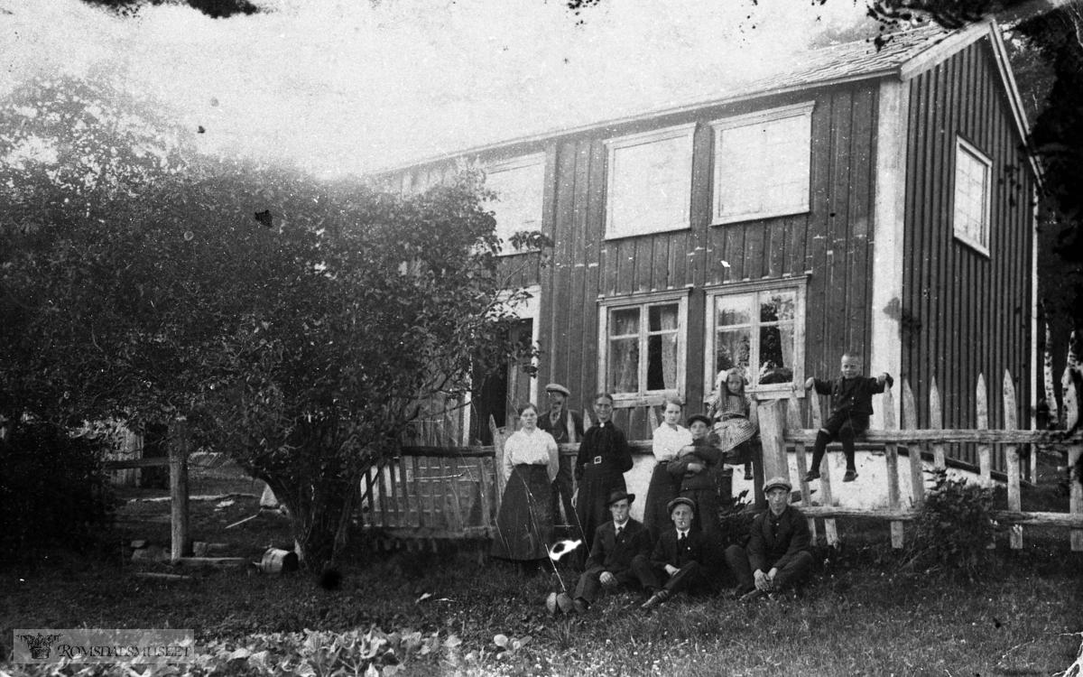 Nedre Bergstykket under Bjørset..Ludvig Bergs Minde tatt ca 1921..(Se Romsdalsmuseets årbok 2007) .(Se Romsdalsmuseets årbok 1997)