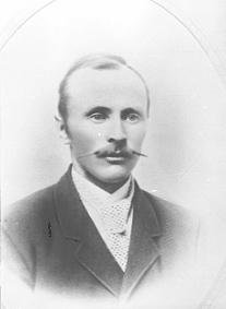 PORTRETT: OLAF KYLGAARDEN, DØD 1921, KYLGÅRDEN
