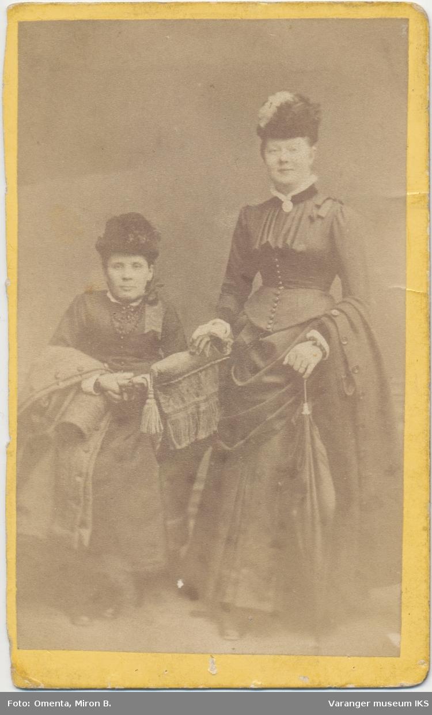 Dobbeltportrett, to kvinner