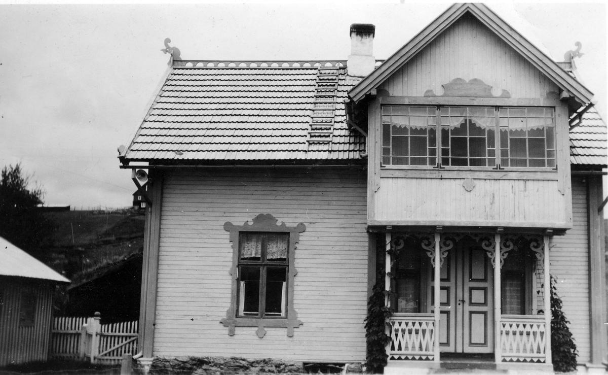 Hus i drage stil