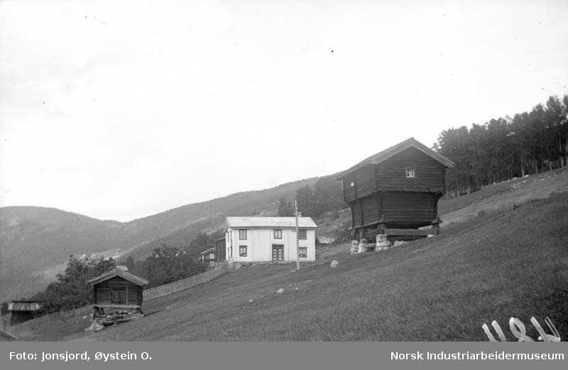 Utsikt fra Jonsjord i Øvre Austbygde