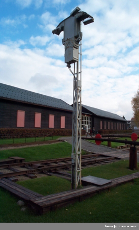 Spornummersignal for motordrift fra Ski stasjon - For signalgivning