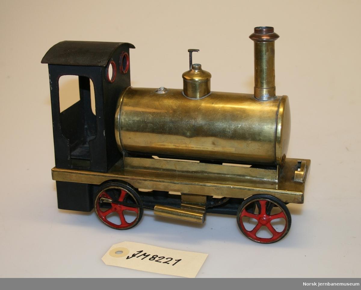 Lokomotivmodell med dampdrift