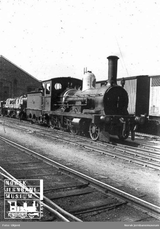 Hovedbanens damplokomotiv litra C nr. 37