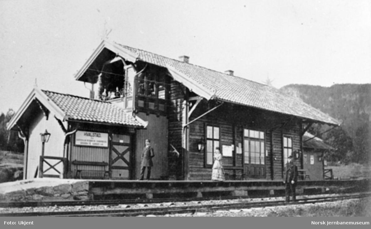 Hvalstad stasjonsbygning
