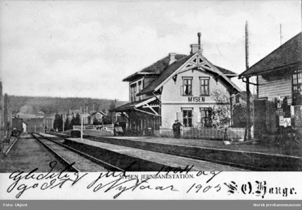 Mysen stasjon