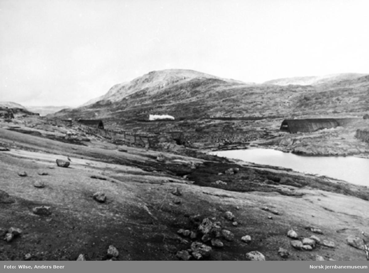 Snøoverbygg og snøskjermer i Såtåsvingen