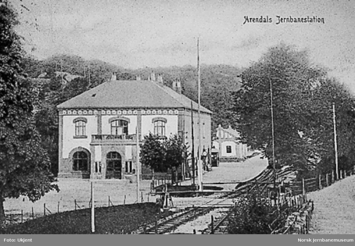 Arendal stasjonsbygning