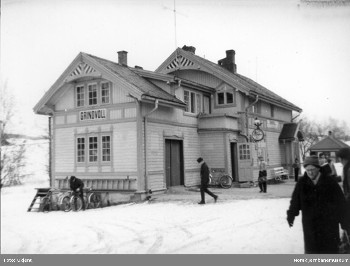 Grindvoll stasjonsbygning
