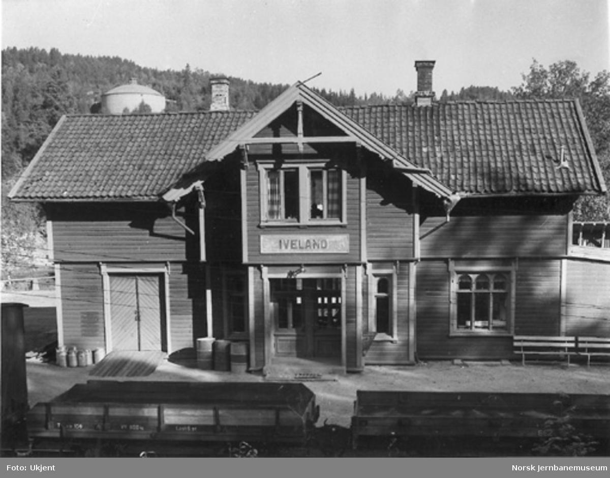 Iveland stasjonsbygning