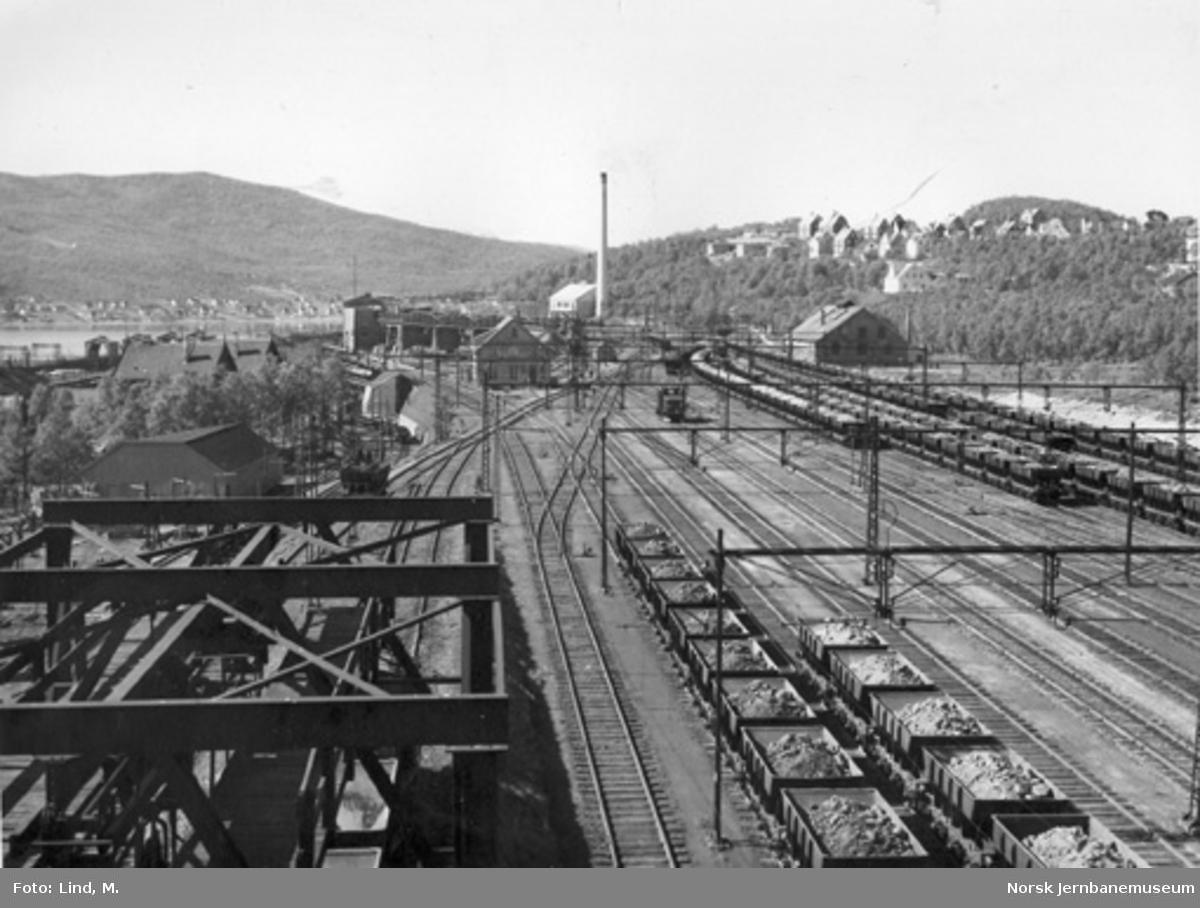 LKABs øvre rangerstasjon i Narvik