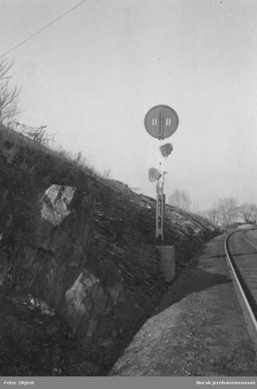 Utkjørforsignal fra Tøyen til Grefsen