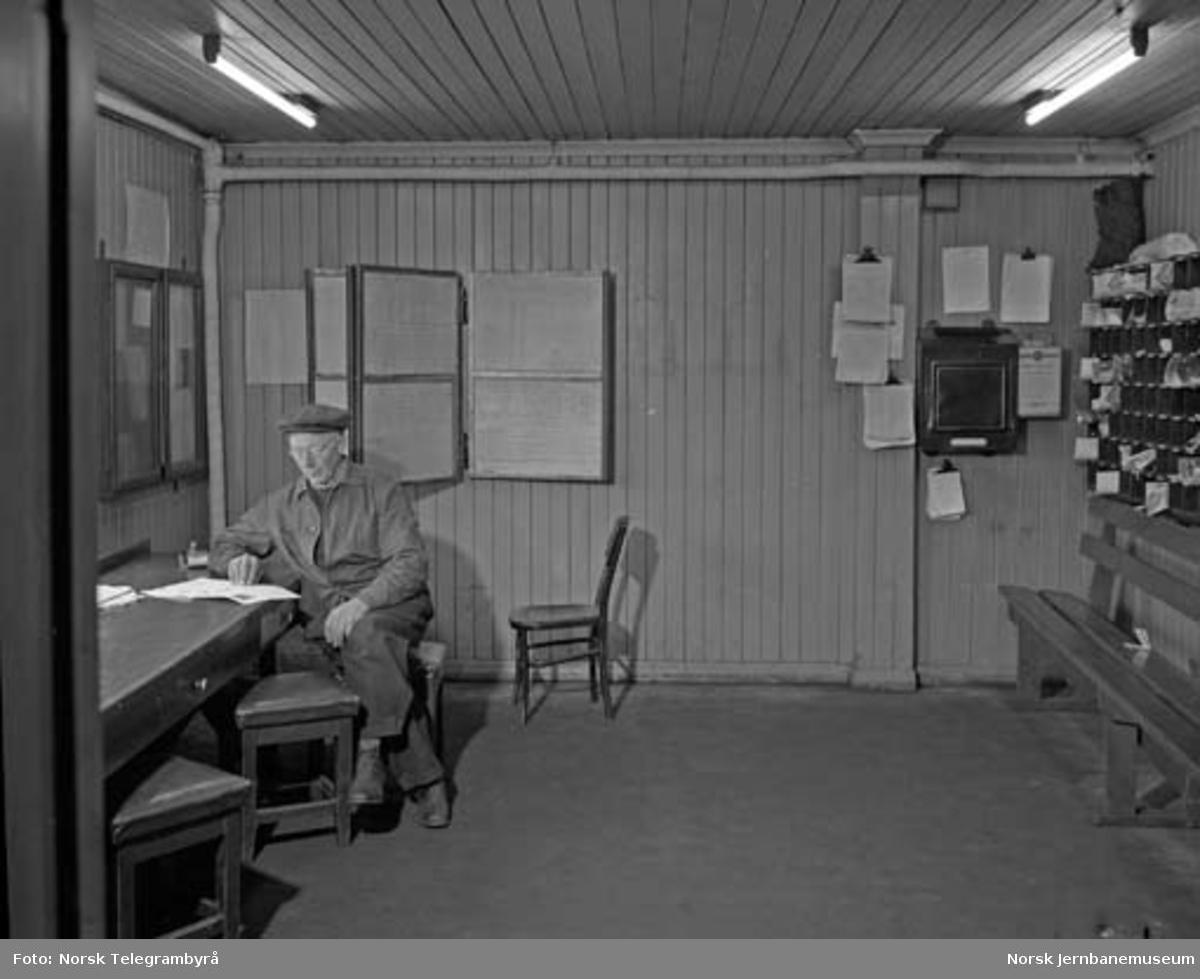 Hamar lokomotivstall : lokomotivpersonalets gamle postrom