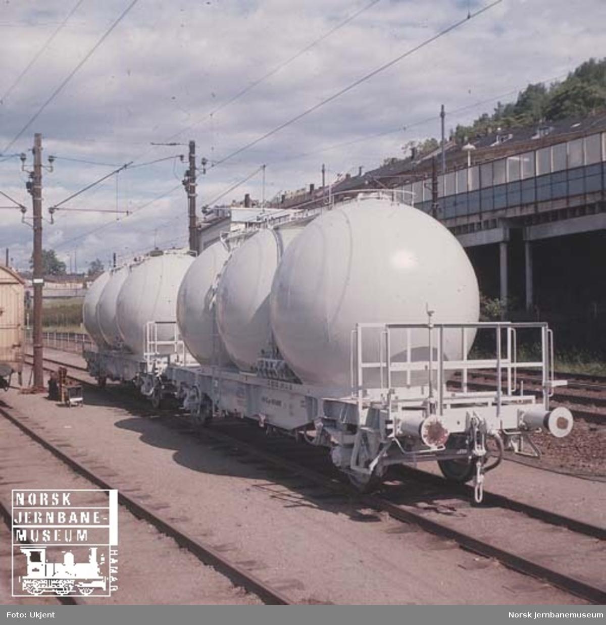 NSB beholdervogn for pulvergods, litra Uc litrakode 9005