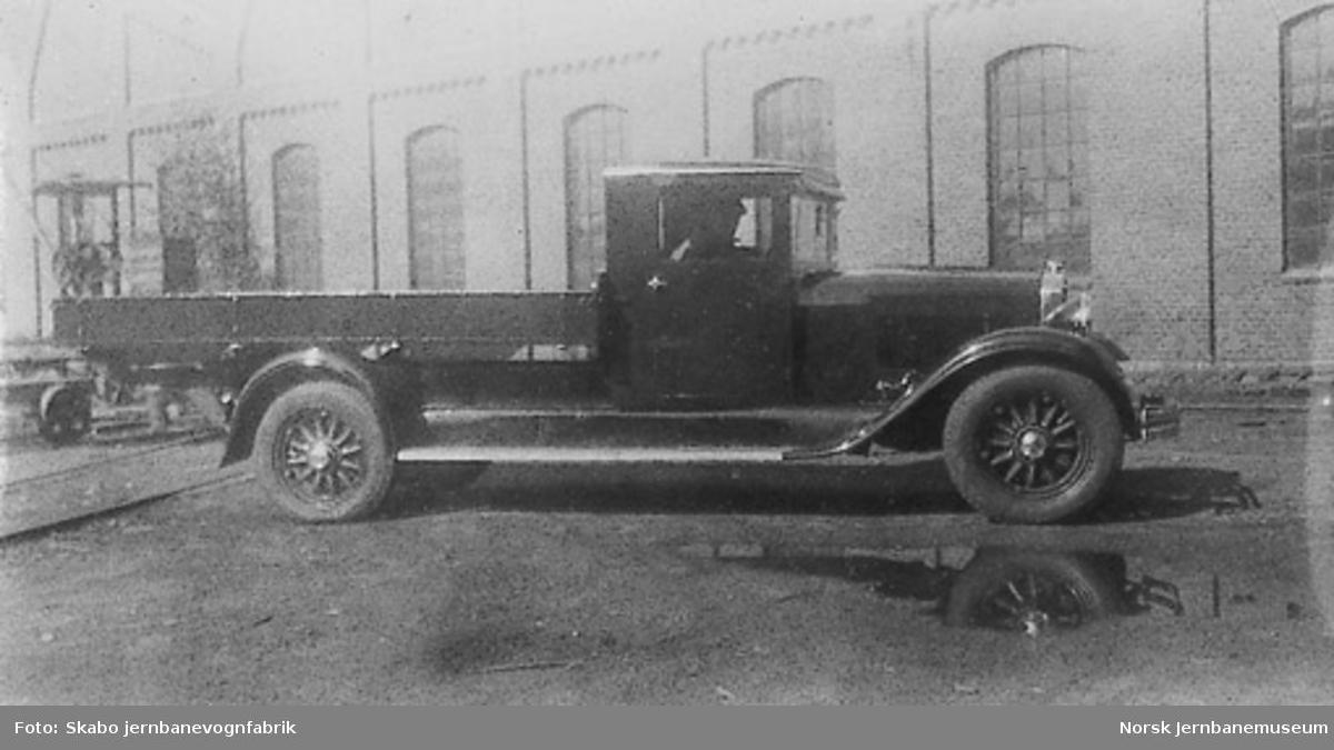Lastebil til ukjent kunde