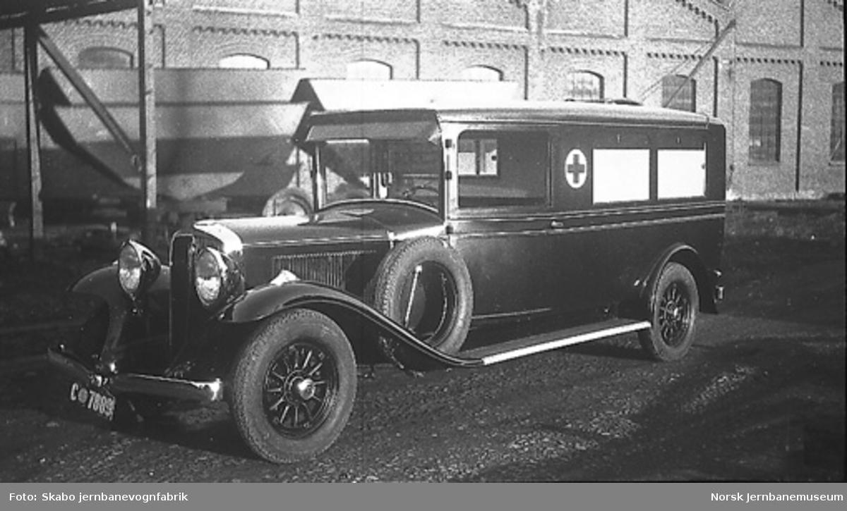 Studebaker sykebil