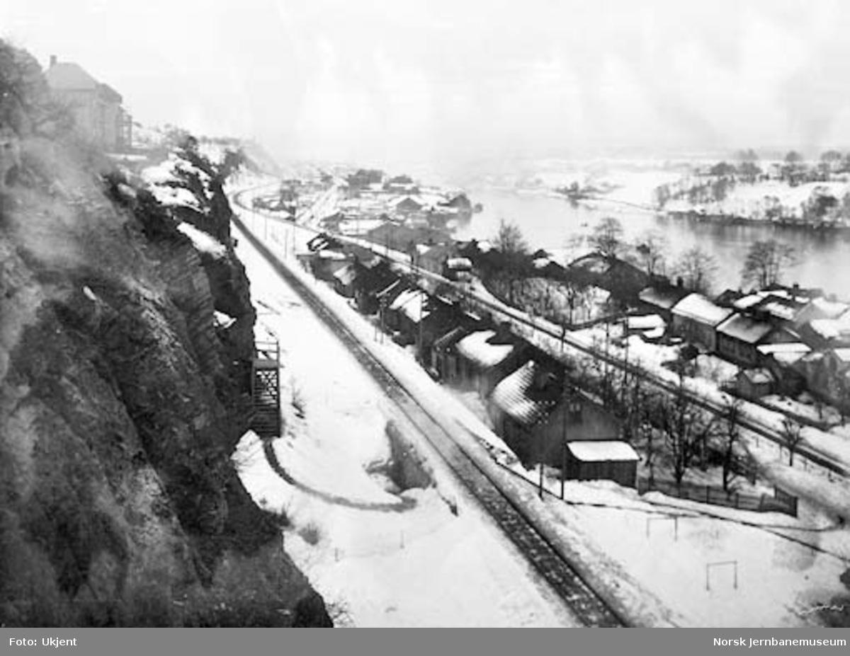 Bratsbergbanen ved Follestad