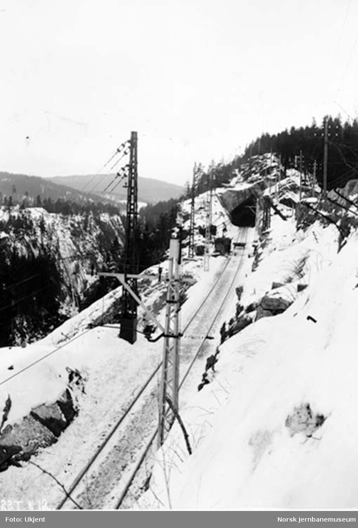 Jernbanen ved Svelgfoss