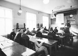Undervisning på Jernbaneskolen