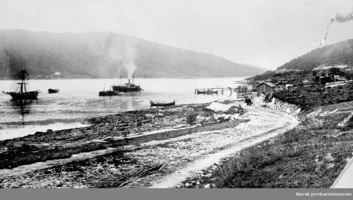 Victoriahavn under kronprinsparets besøk i 1887