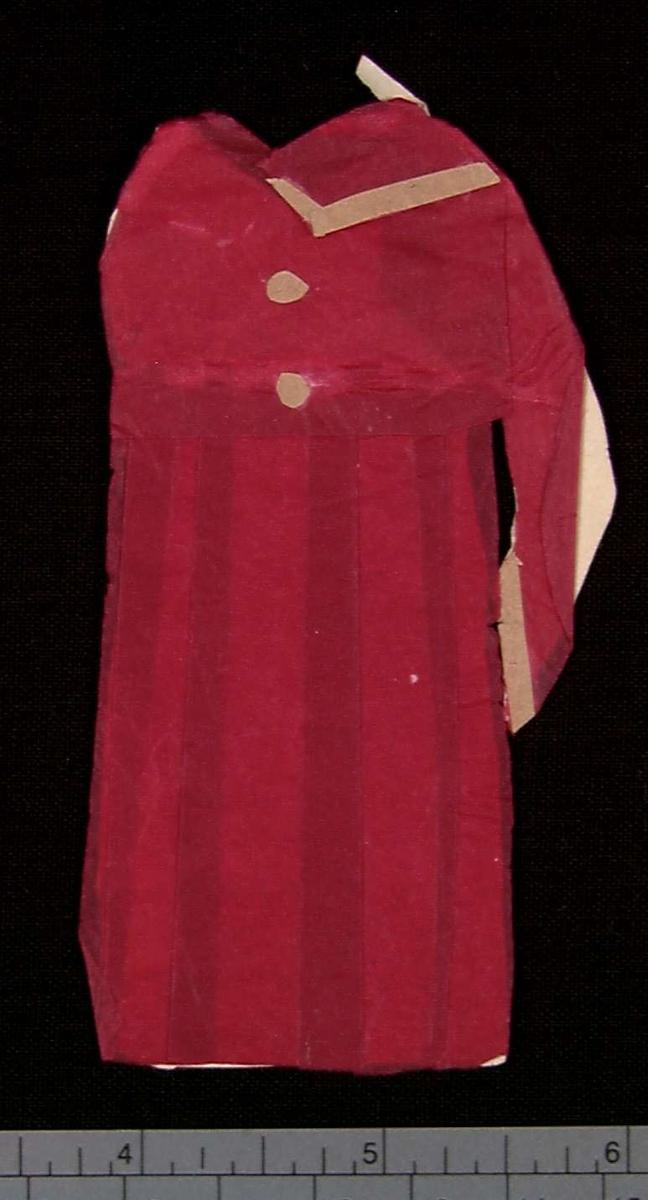 Papirdukketøy, kjole