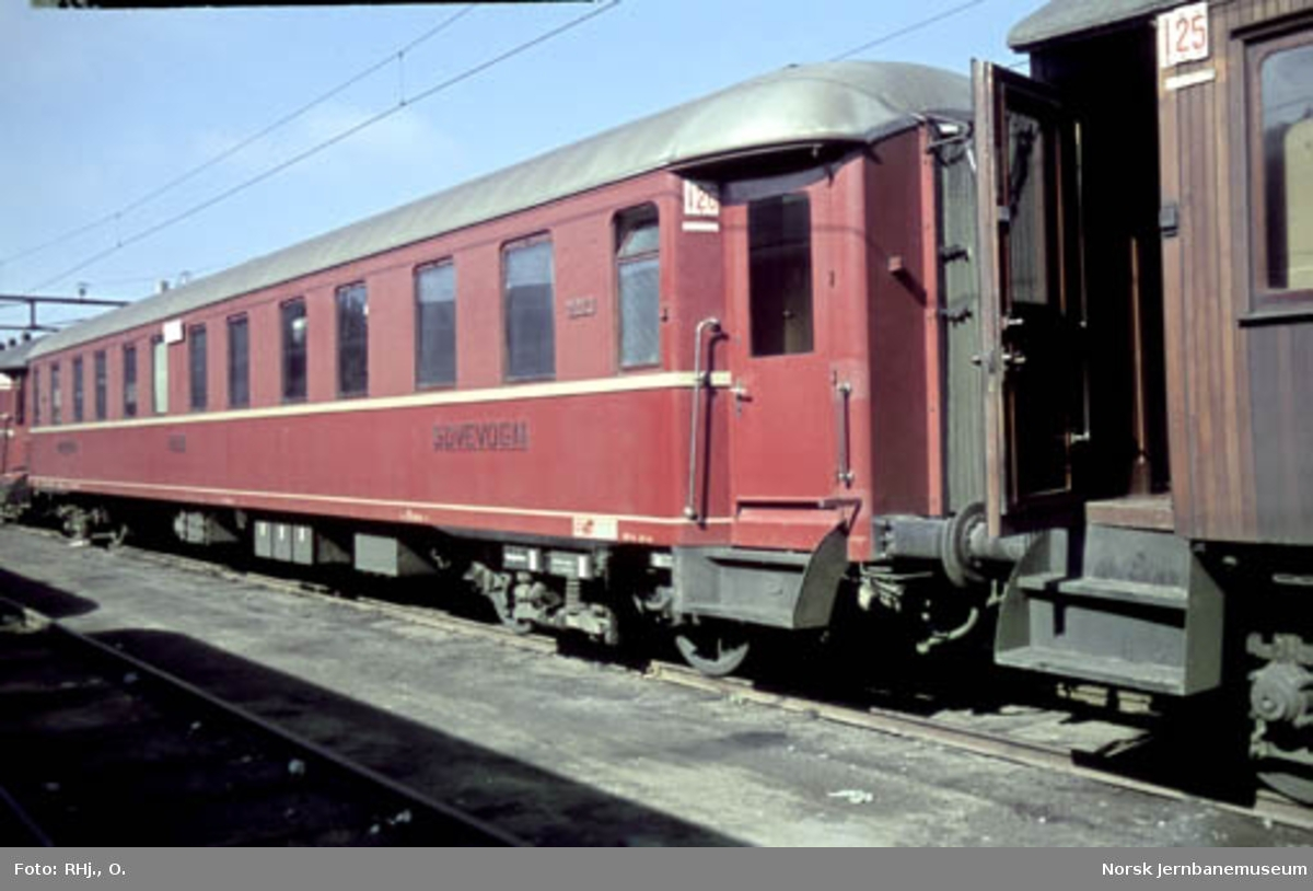 NSB sovevogn litra WLAo1b nr. 21013