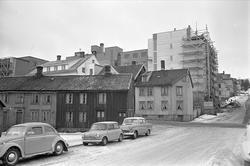 Serie. Tromsø sentrum og havnebasseng, Tromsø, Troms. Fotogr
