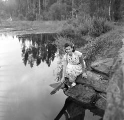 """Serie. Fra lokalpremiere på filmen """"Finnskog og trollskap""""."""