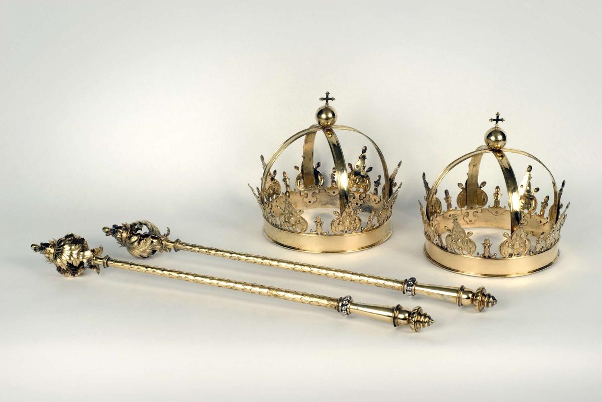 Begravningsregalier för Katarina av Sachsen-Lauenburg och Margareta Leijonhufvud, Uppsala domkyrka, Uppsala