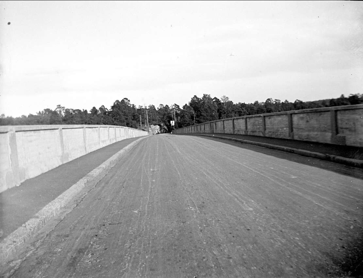 Skurusundsbron i Boo socken, Uppland september 1923