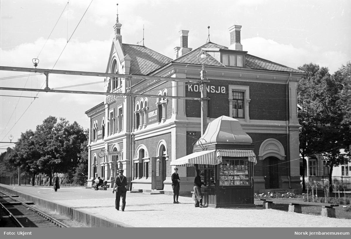Kornsjø stasjonsbygning