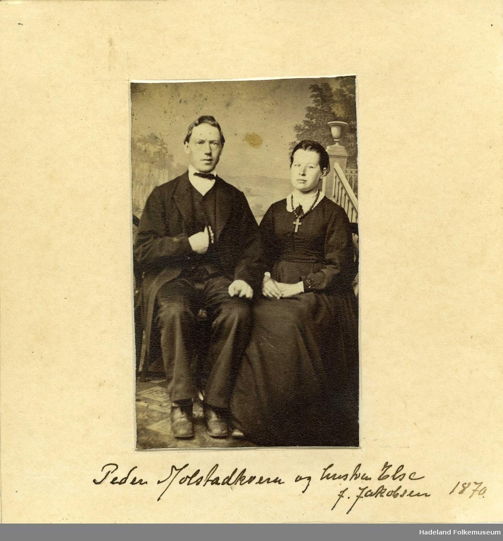 Ekteparet møller Peder Rosendal og Else Rosendal, født Else Jacobsen.