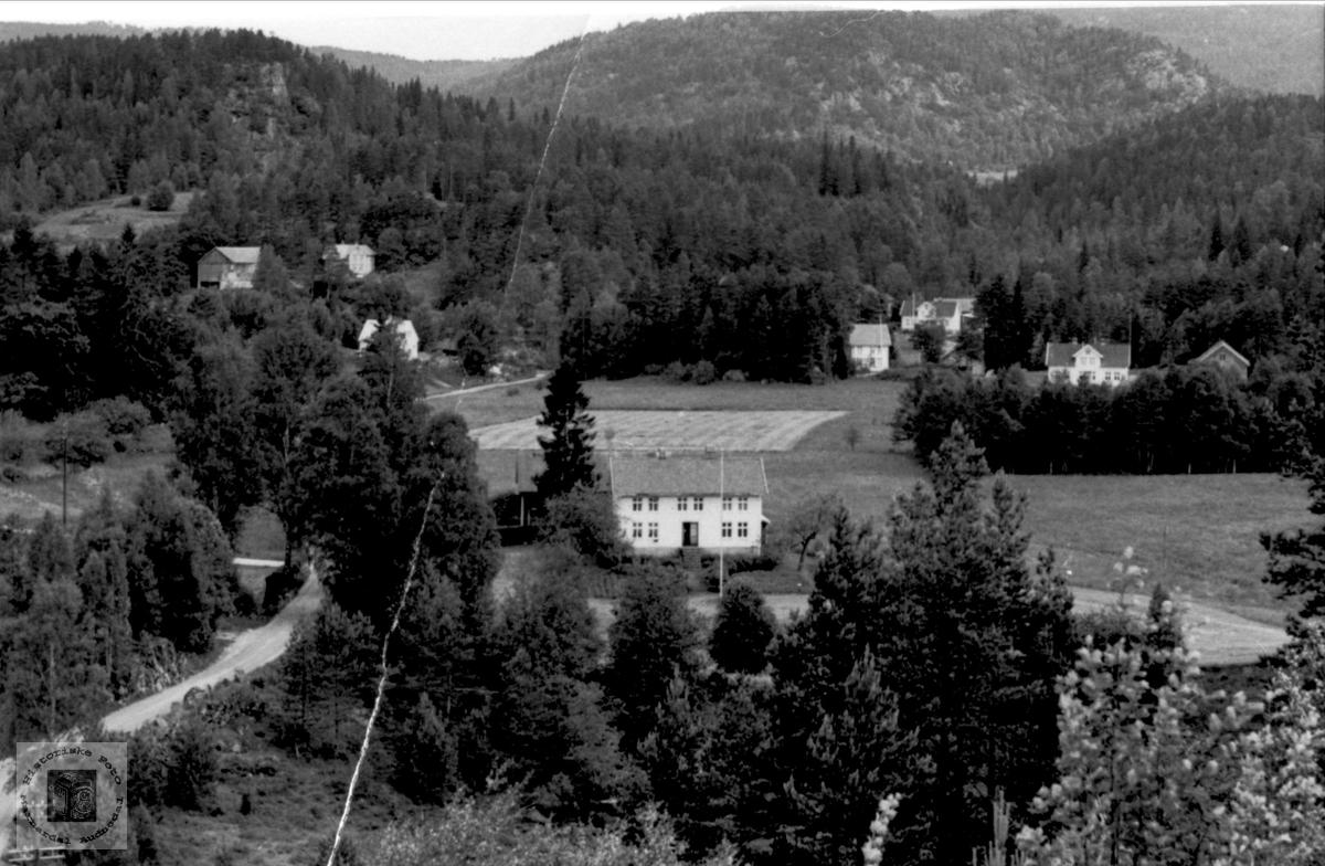 Foss i Bjelland.