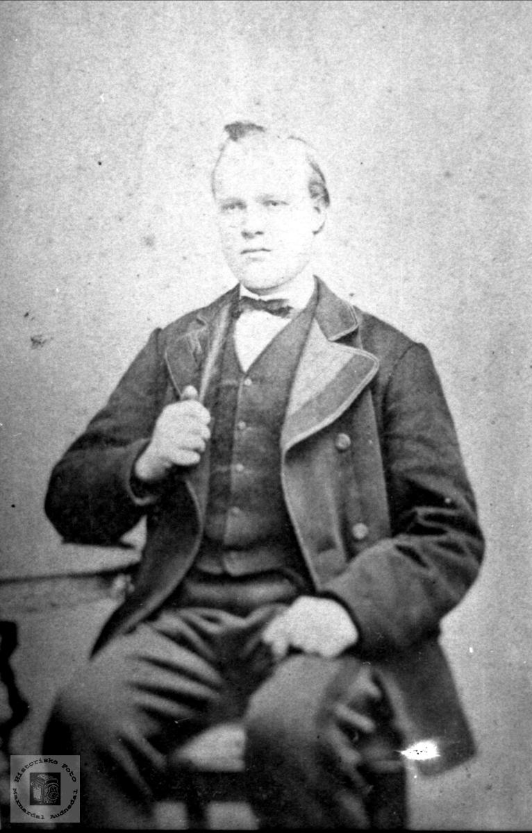 Portrett Anders Johnsen Finsådal? , Øyslebø.