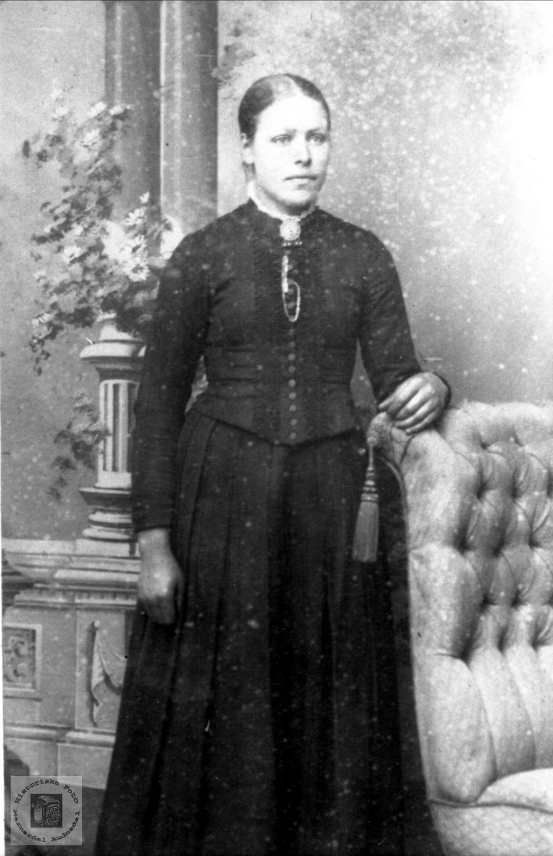 Portrett av Steivor Fidjestøl, Øyslebø.