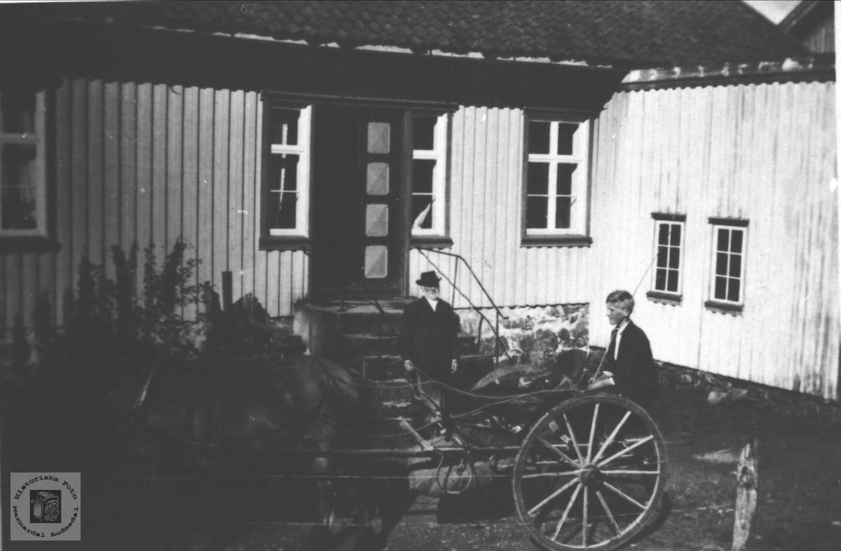 Skysskar trolig på Høye i Øyslebø.