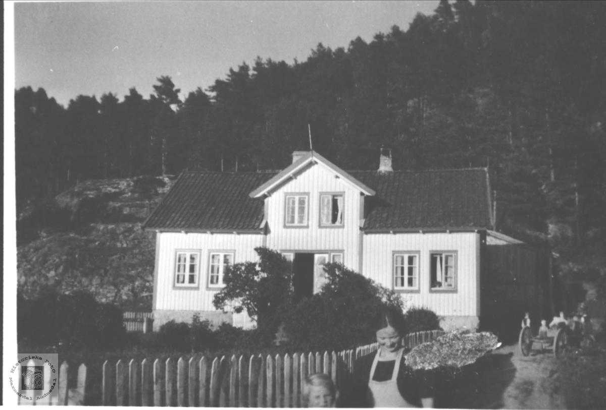 Hus på Br nr. 6 på Høye i Øyslebø.