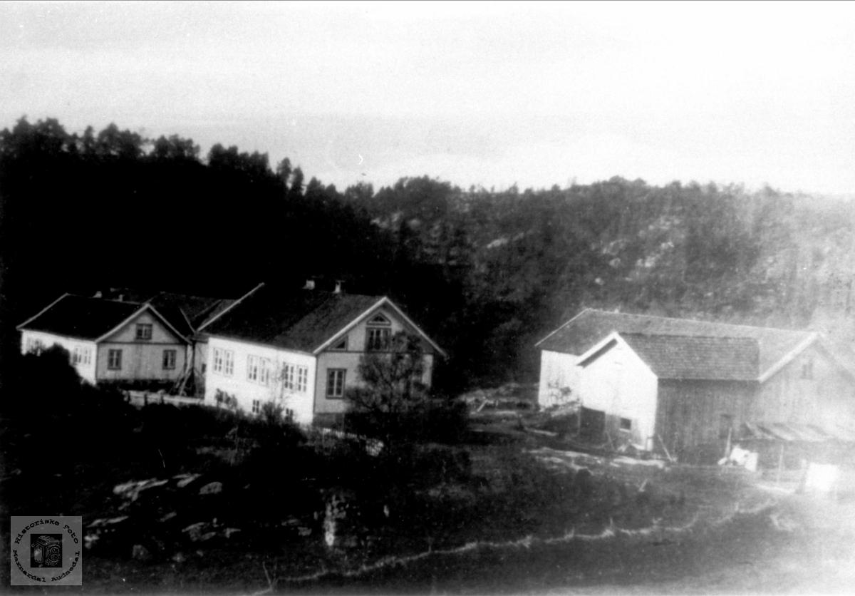 Garden Sløgedal i Øyslebø.