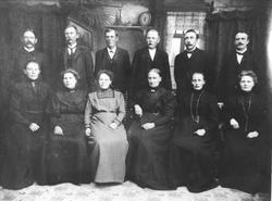 Familiegruppe Sløgedal, Skjævelsand, Manneråk, Braatene, Håk