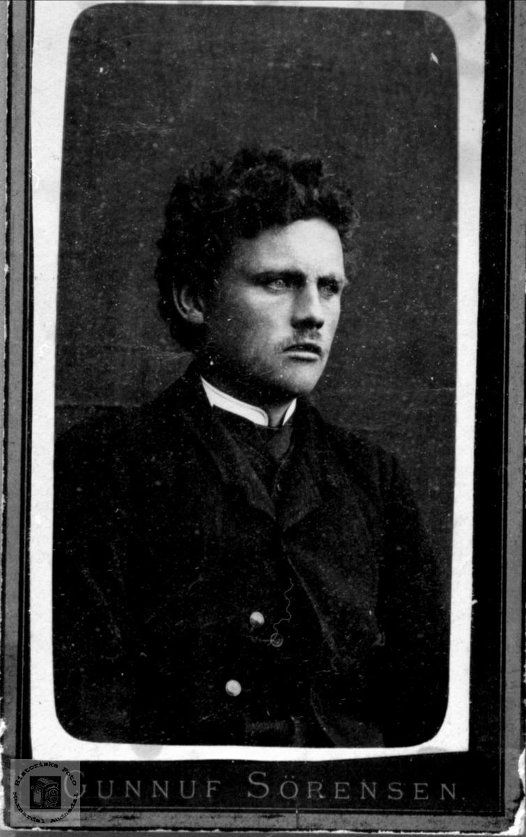 Portrett av John Koland, Bjelland.