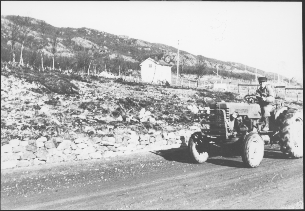 Topografi, traktor