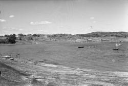 Berga strand på Tjörn 1955